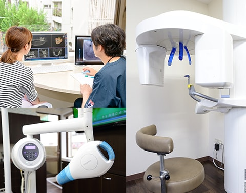 歯科用CTで3次元的な診査・診断
